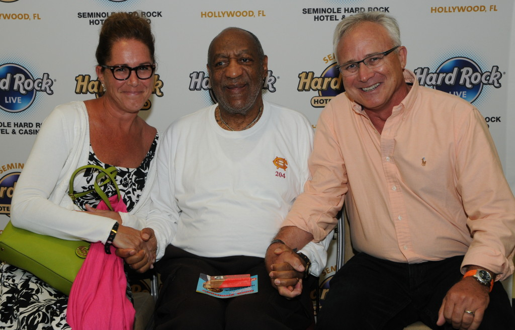 With Mr. Bill Cosby